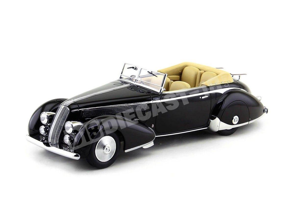 1936 Lancia Astura Tipo 233 Corto Black 1:18 Minichamps 107125332 Cochesdemetal.es
