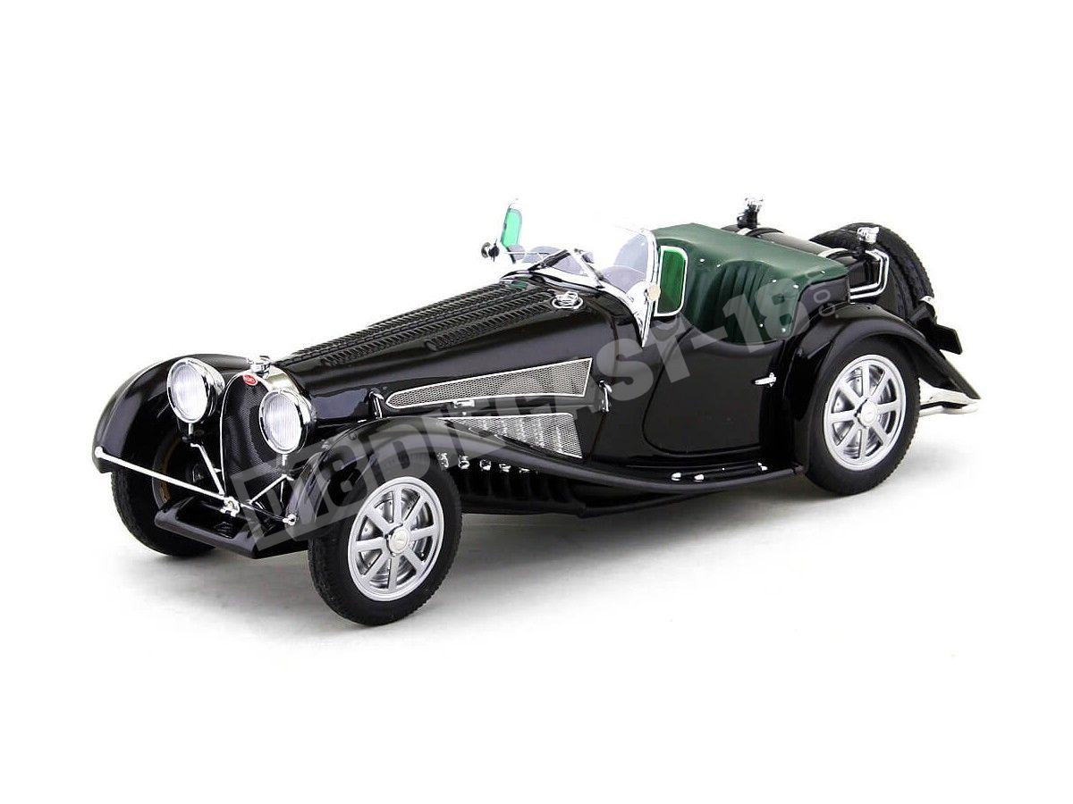 1931 Bugatti Type 54 Roadster Negro-Verde 1:18 Minichamps 107110160 Cochesdemetal.es