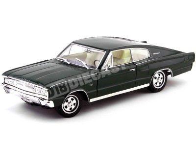 1966 Dodge Charger Metallic Green 1:18 Lucky Diecast 92638 Cochesdemetal.es