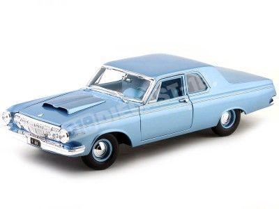 1963 Dodge 330 Azul Claro Metalizado 1:18 Maisto 31652 Cochesdemetal.es