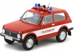 1976 Lada Niva Feurewehr Bomberos Alemania Rojo/Blanco MC Group 18006