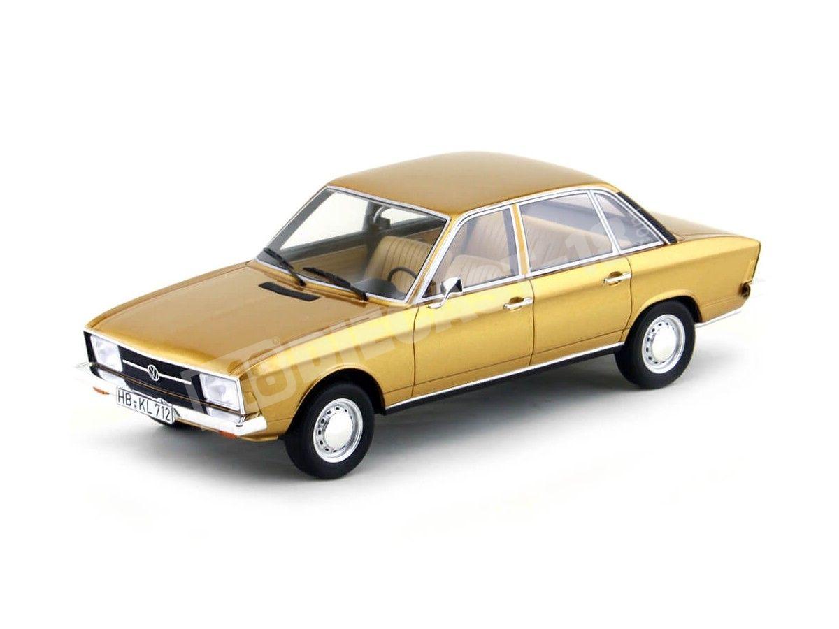 1970 Volkswagen K70 L Metallic Gold 1:18 BoS-Models 148 Cochesdemetal.es