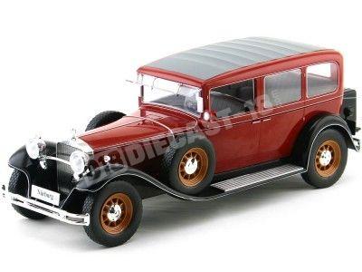 1928 Mercedes-Benz 460K Type Nurburg (W08) Papamóvil Rojo 1:18 MC Group 18032 Cochesdemetal.es
