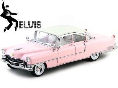 "1955 Cadillac Fleetwood Series 60 Special ""Elvis Presley"" Rosa Greenlight 12950"
