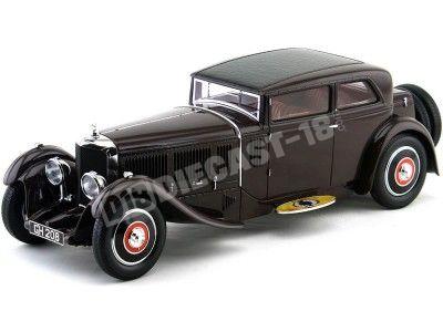 1930 Bentley Speed Six Corsice Coupe Dark Brown Minichamps 107139420