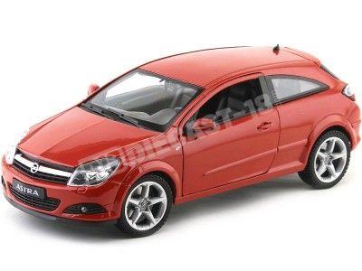 2005 Opel Astra GTC Rojo Metalizado 1:18 Welly 12563 Cochesdemetal.es
