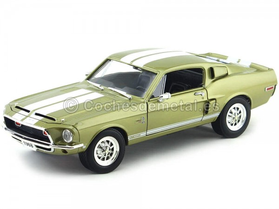 1968 Ford Shelby GT-500KR Tungsten Grey 1:18 Lucky Diecast 92168 Cochesdemetal.es