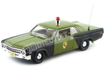 "1966 Chevrolet Biscayne ""Policia Estado de Maryland"" 1:18 Auto World AMM1030 Cochesdemetal.es"