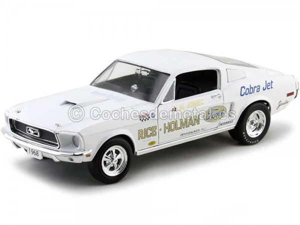 1968 Ford Mustang S/S Cobra Jet Rice-Holman Auto World AW203