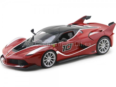 2015 Ferrari FXX-K Rojo 1:18 Bburago Race Play 16010 Cochesdemetal.es