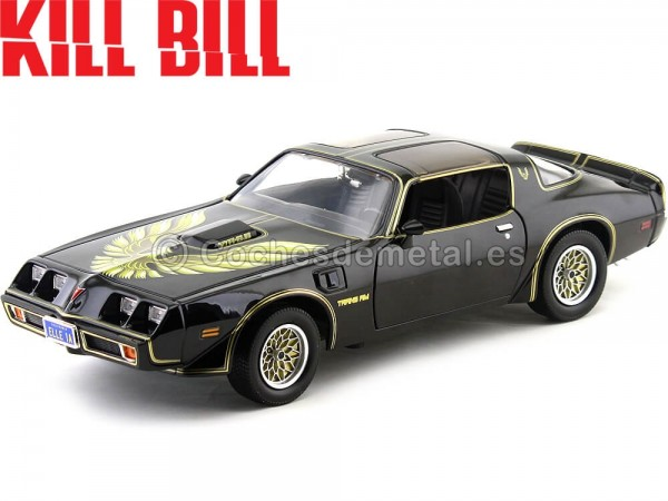 "1979 Pontiac Trans AM T-A 6.6 ""Kill Bill Vol I & II"" 1:18 Greenlight 12951 Cochesdemetal.es"