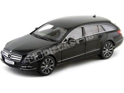 2012 Mercedes-Benz Clase-CLS X218 Shooting Break Negro Norev B66960115