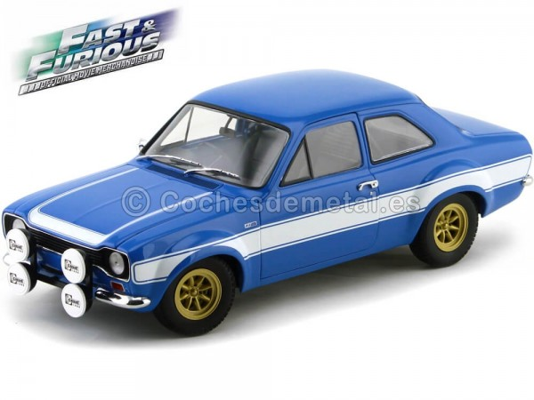 "1970 Ford Escort I RS 1600 FAV ""Fast and Furious VI"" 1:18 Minichamps 100688102 Cochesdemetal.es"