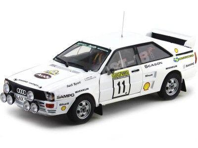 """1983 Audi Quattro A2 """"1000 Lakes Rally"""" 1:18 Sun Star 4228 Cochesdemetal.es"""