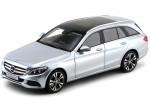 2014 Mercedes-Benz Clase C Estate S205 Diamond Silver Metallic Norev B66960258