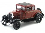 1931 Ford Model A Coupe Rubelite Red 1:18 Sun Star 6131