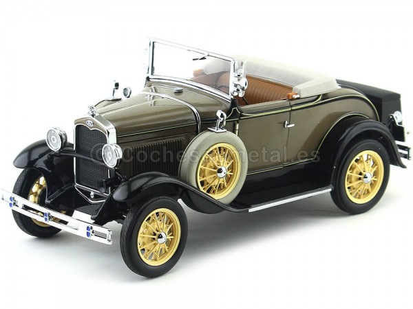1931 Ford Model A Roadster Stone Brown 1:18 Sun Star 6120 Cochesdemetal.es