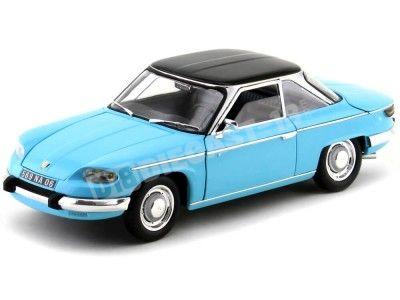 1964 Panhard 24 CT Tolede Blue 1:18 Norev 184501 Cochesdemetal.es