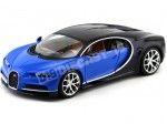 2016 Bugatti Chiron Azul Bburago 11040