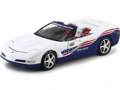 2004 Chevrolet Corvette Indy 500 Pace Car 1:18 Auto World AW204 Cochesdemetal.es