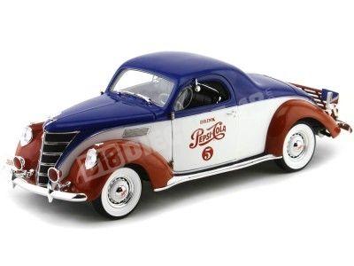 "1937 Lincoln Zephyr coupe ""Pepsi-Cola"" Auto World AW205"