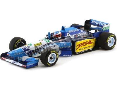 1995 Benetton Renault B195 M. Schumacher Winner French GP 1:18 Minichamps 100950001 Cochesdemetal.es