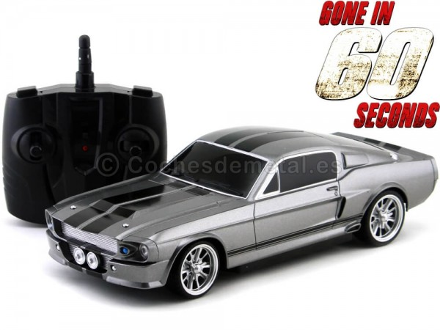 "1967 Shelby GT 500E Eleanor ""60 Segundos"" Radio Control 1:18 Greenlight 91001 Cochesdemetal.es"
