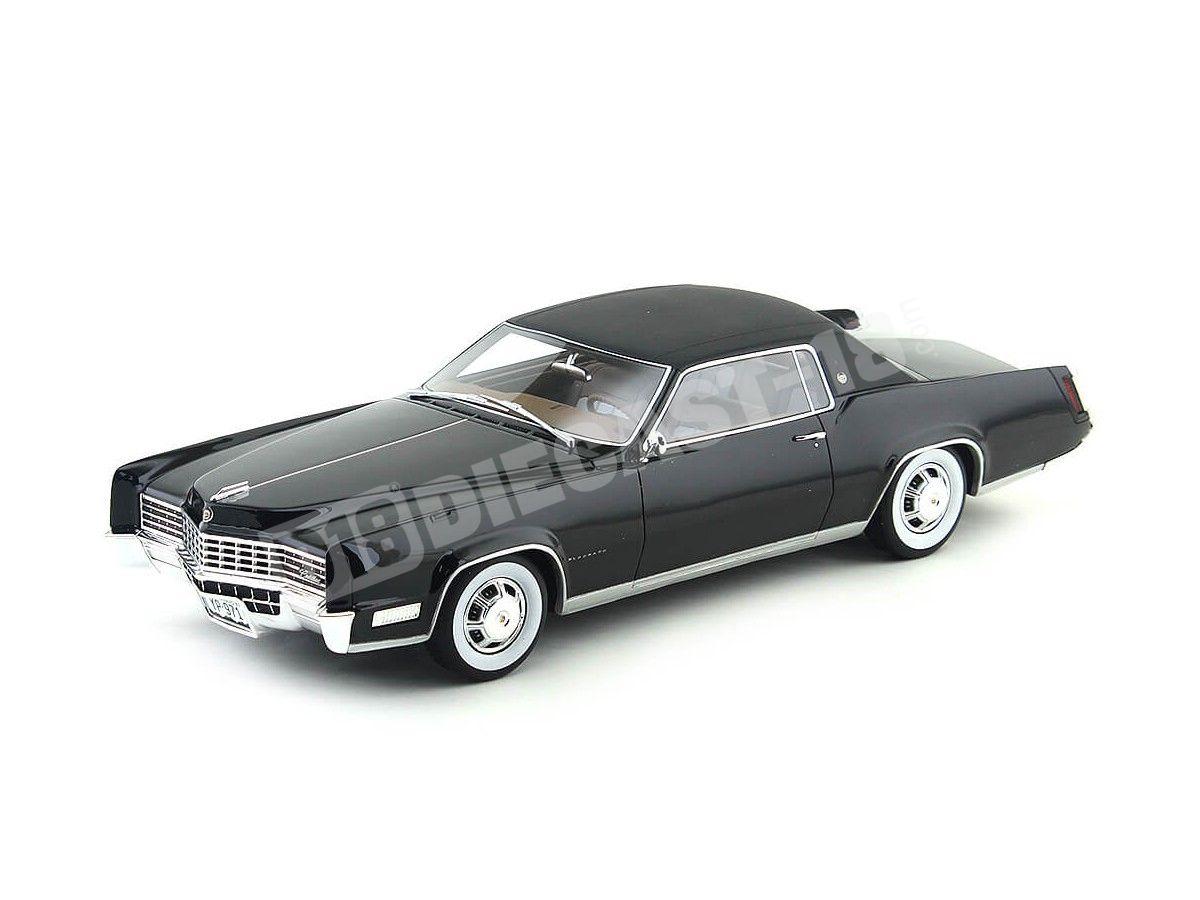 1967 Cadillac Eldorado Negro 1:18 BoS-Models 064 Cochesdemetal.es