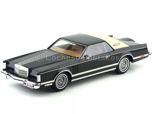 1978 Lincoln Continental Mark V Coupe Negro-Beige BoS-Models 129 Cochesdemetal.es