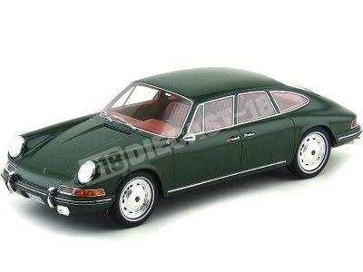 1967 Porsche 911S Troutman-Barnes Dark Green 1:18 BoS-Models 060 Cochesdemetal.es