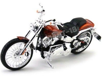 2014 Harley-Davidson CVO Breakout Roja 1:12 Maisto 32327 HD09 Cochesdemetal.es
