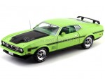 1971 Ford Mustang Mach 1 Cobra Jet Green Auto World AMM1069