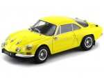 1972 Alpine Renault A110 1600S Yellow 1:18 Kyosho 08484Y