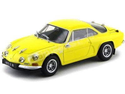 1972 Alpine Renault A110 1600S Yellow 1:18 Kyosho 08484Y Cochesdemetal.es