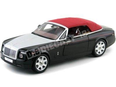 2012 Rolls-Royce Phantom Drophead Coupe Diamond Black Kyosho 08871DBK