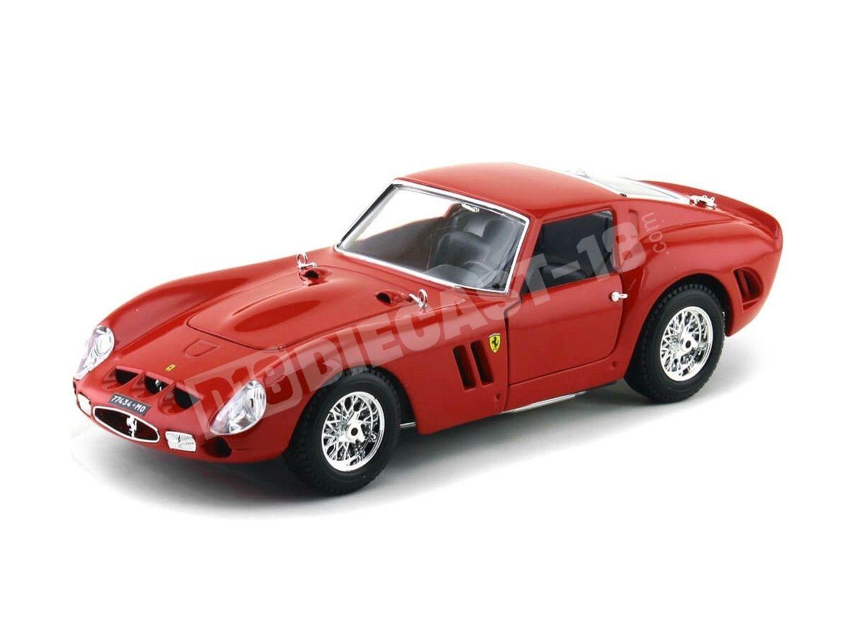 1962 Ferrari 250 GTO Red 1:18 Bburago Original Series 16602 Cochesdemetal.es