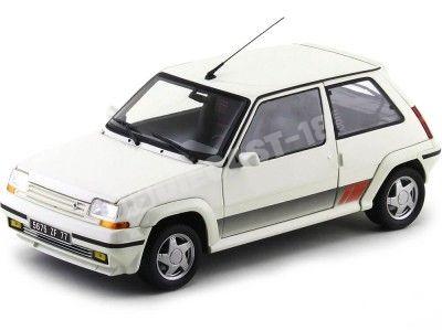 1989 Renault R5 Supercinco GT Turbo Phase II Panda White 1:18 Norev 185206 Cochesdemetal.es