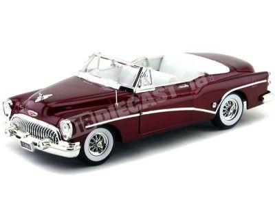 1953 Buick Skylark Convertible Granate 1:18 Motor Max 73129 Cochesdemetal.es