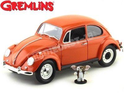 """1967 Volkswagen Beetle """"Gremlins + Gizmo"""" Naranja Greenlight 12985"""