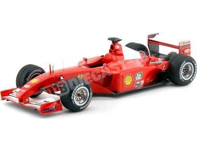 "2001 Ferrari F2001 Winner GP Hungria ""Schumacher"" 1:18 Hot Wheels Elite N2075 Cochesdemetal.es"