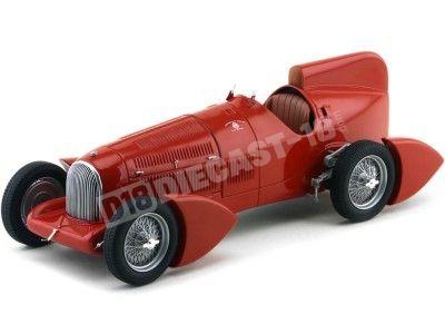 1934 Alfa Romeo Tipo B P3 Aerodinamica Rojo 1:18 BoS-Models 066 Cochesdemetal.es