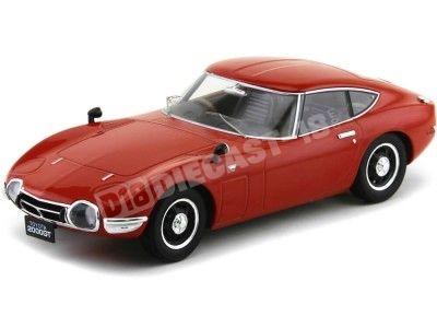 1967 Toyota 2000 GT Rojo 1:18 Triple-9 1800184 Cochesdemetal.es