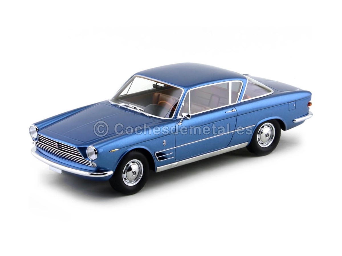 1961 Fiat 2300 S Coupe Azul Metalizado 1:18 BoS-Models 161 Cochesdemetal.es