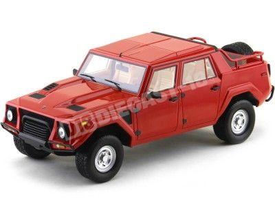 "1987 Lamborghini LM002 ""Rambo-Lambo"" Rojo 1:18 CMF Models 215478 Cochesdemetal.es"