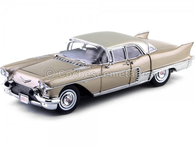 1957 Cadillac Eldorado Brougham Kenya Beige 1:18 Sun Star 4013 Cochesdemetal.es