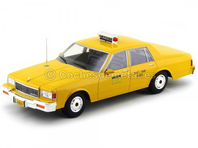 1985 Chevrolet Caprice Classic Sedan Taxi NYC Amarillo 1:18 MC Group 18038