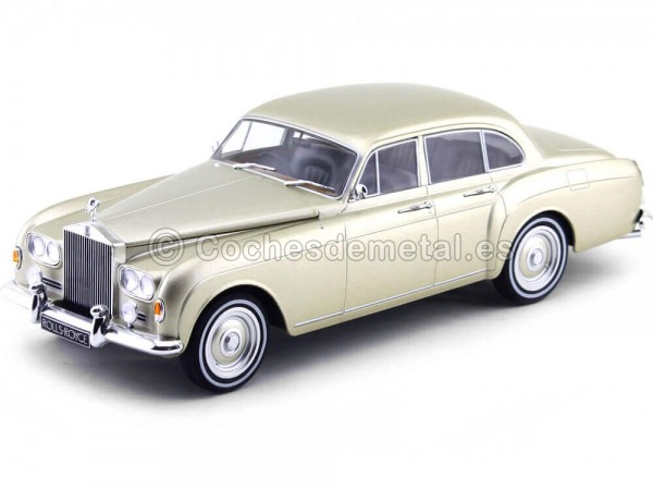 1963 Rolls-Royce Silver Cloud III Flying Spur Gold 1:18 MC Group 18058 Cochesdemetal.es