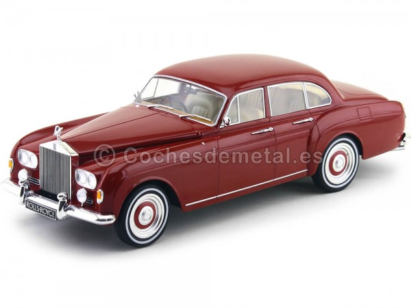 1963 Rolls-Royce Silver Cloud III Flying Spur Red 1:18 MC Group 18056 Cochesdemetal.es
