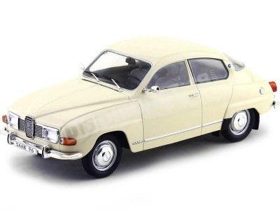 1971 Saab 96 V4 Blanco 1:18 MC Group 18059 Cochesdemetal.es