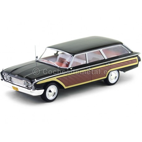 1960 Ford Country Squire Negro 1:18 MC Group 18073 Cochesdemetal.es